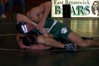 East Brunswick Wrestling Bryan Pedreiro - click for larger image