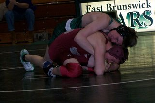 East Brunswick Wrestling Chris Williams - click for larger image