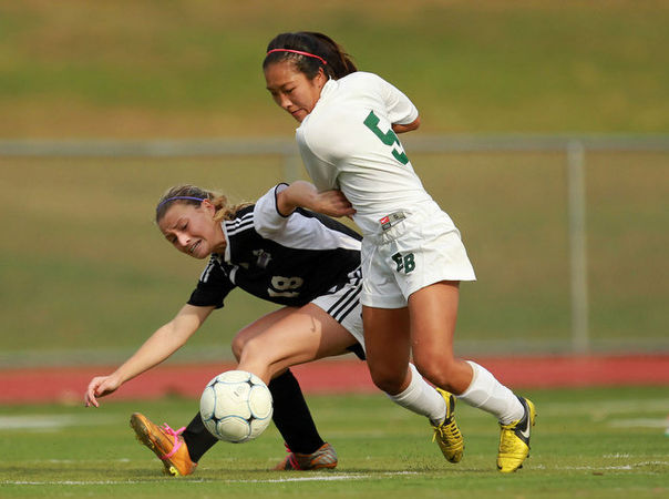 Girls soccer: Sydney Rosa leads East Brunswick over Old Bridge in Greater Middlesex Conference Tournament final - NJ.com
