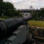 Cannon at Fort Lee Historical Park