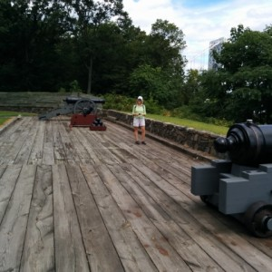 Cannon at Fort Lee Historic Park