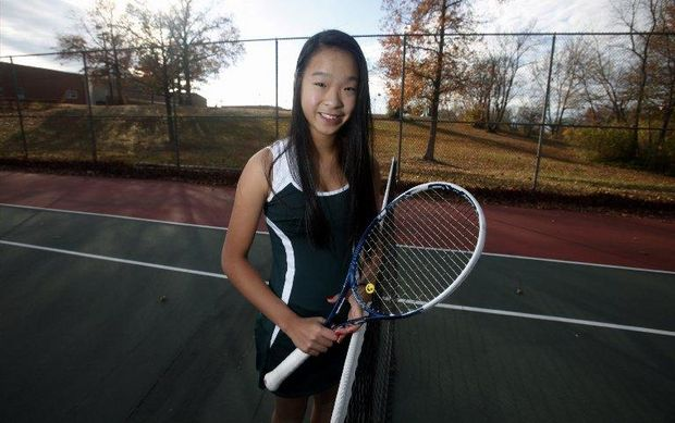 Girls Tennis: Jennifer Chen of East Brunswick receives the top seed in the Greater Middlesex Conference Tournament - NJ.com