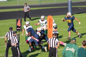 East Brunswick - Goal line stand