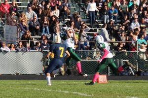 East Brunswick Football - Interception