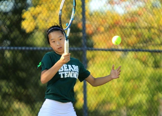 Girls tennis: East Brunswick, South Brunswick share lead at Greater Middlesex Conference Tournament - NJ.com