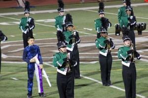 East Brunswick Band at Monroe Game