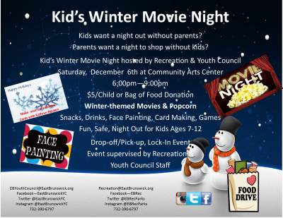Kids Winter Movie Night
