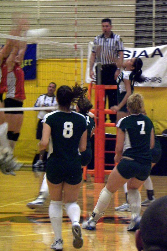 Volleyball Basketball Cross